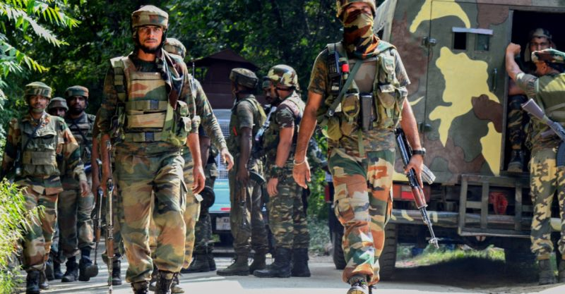 Indian army stood fourth in top ten list of strongest armies in the world