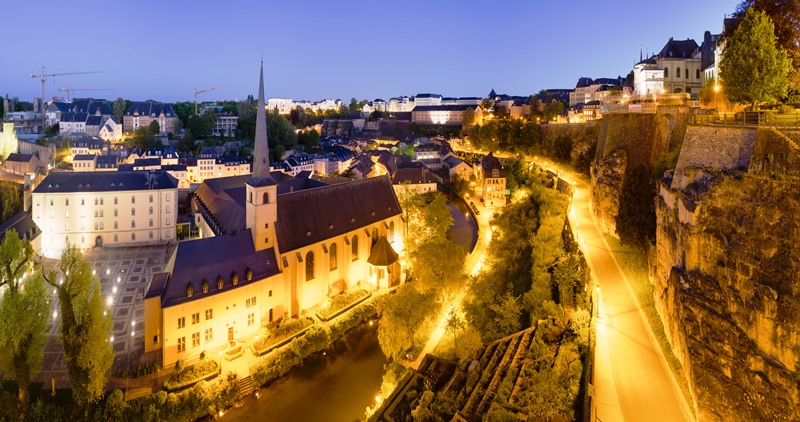 Luxembourg the second richest country