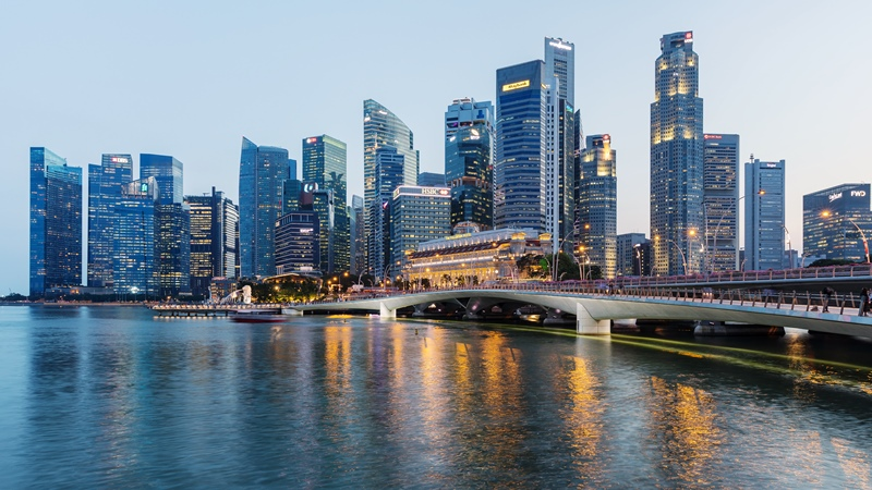 Singapore third wealthiest country