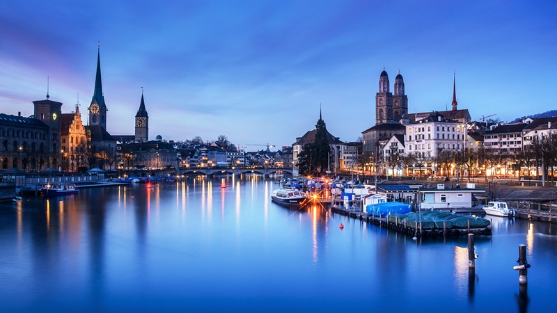Switzerland ninth wealthiest country