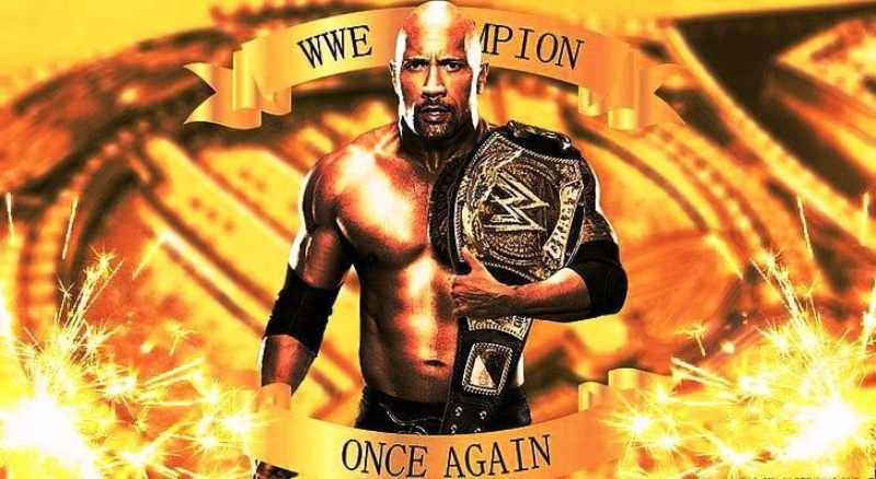 The Rock is fourth most title holder of WWE Championship
